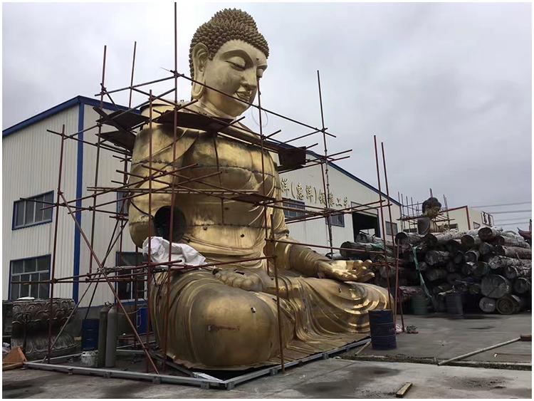 1I726001 large brass buddha statue price (7)