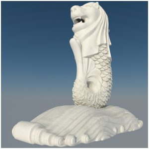 1I731001 merlion statue china manufacturer (1)