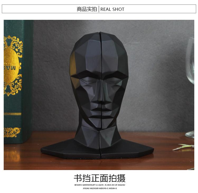 1I709066 Human Head Bookends Cheap Sale (5)