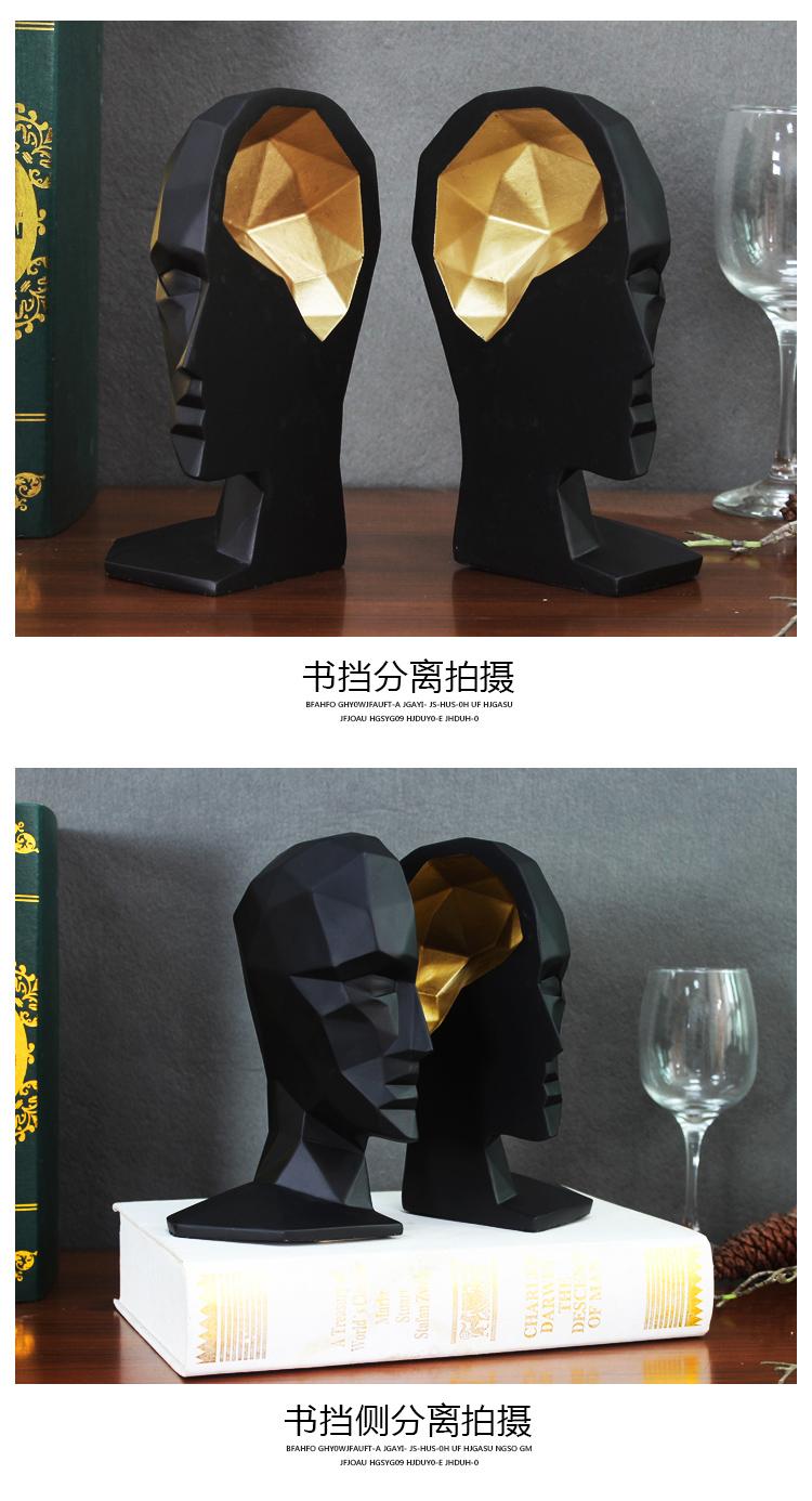 1I709066 Human Head Bookends Cheap Sale (7)
