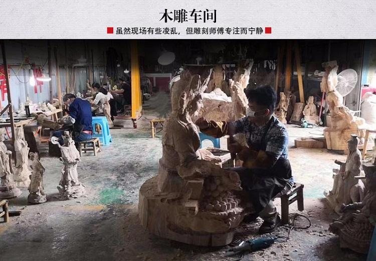 1I805001 Detail Thousand Hand Guan Yin Wooden (22)