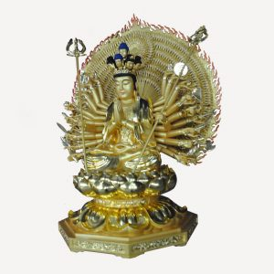 1I805001 Thousand Hand Guan Yin Wooden (2)