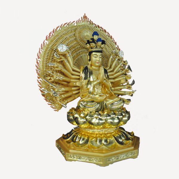 1I805001 Thousand Hand Guan Yin Wooden (3)
