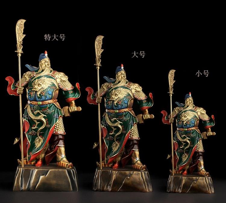1I808001 Detail Guan Yu Statue Online Sale (11)
