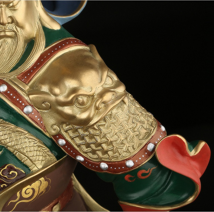 1I808001 Detail Guan Yu Statue Online Sale (13)
