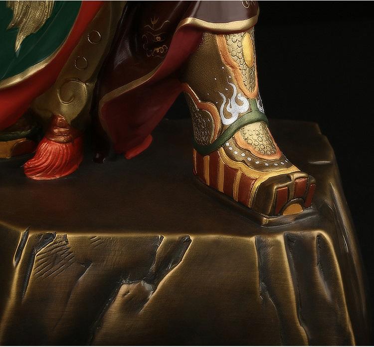 1I808001 Detail Guan Yu Statue Online Sale (14)