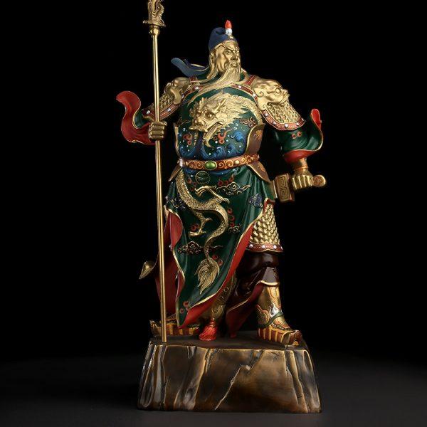1I808001 Guan Yu Statue Online Sale (3)