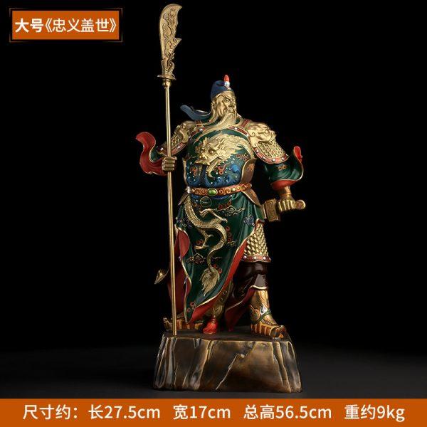 1I808001 Guan Yu Statue Online Sale (7)