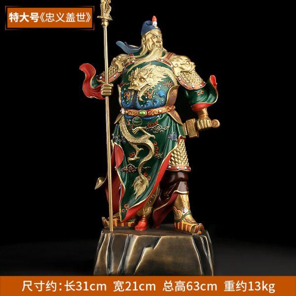1I808001 Guan Yu Statue Online Sale (8)