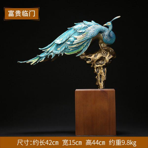 1I808002 Peacock Garden Statue Online Sale (1)