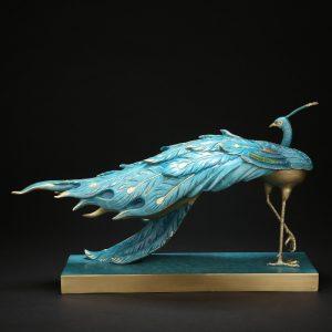1I808002 Peacock Garden Statue Online Sale (2)