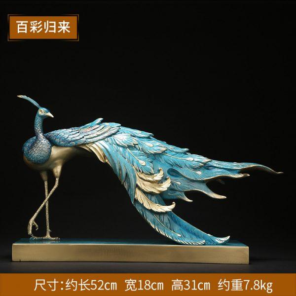 1I808002 Peacock Garden Statue Online Sale (6)