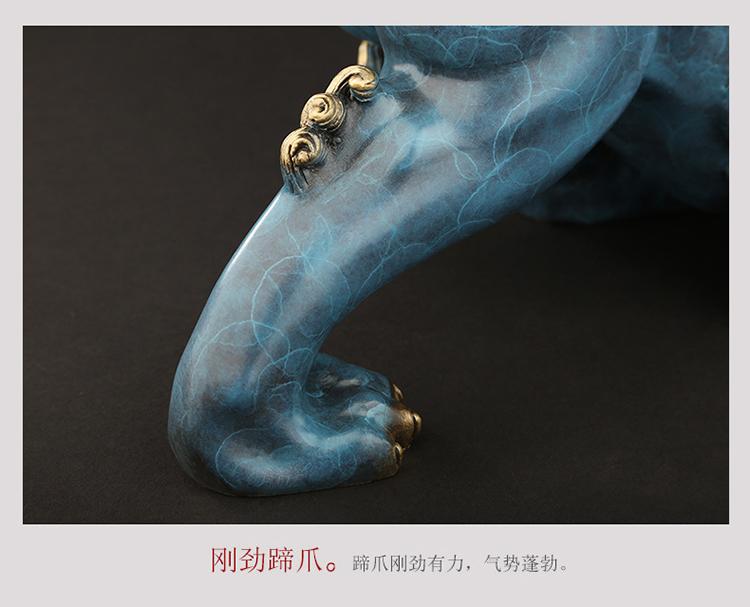 1I808003 Detail Pixiu Statue Dragon Feng Shui Online Sale (14)