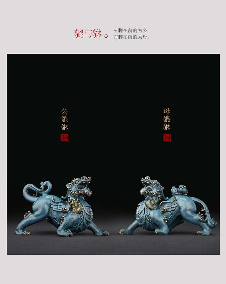 1I808003 Detail Pixiu Statue Dragon Feng Shui Online Sale (4)