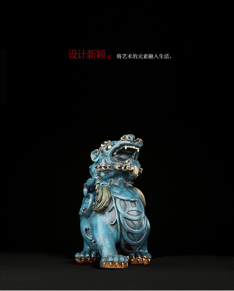 1I808003 Detail Pixiu Statue Dragon Feng Shui Online Sale (9)
