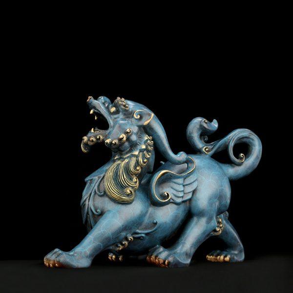 1I808003 Pixiu Statue Dragon Feng Shui Online Sale (2)