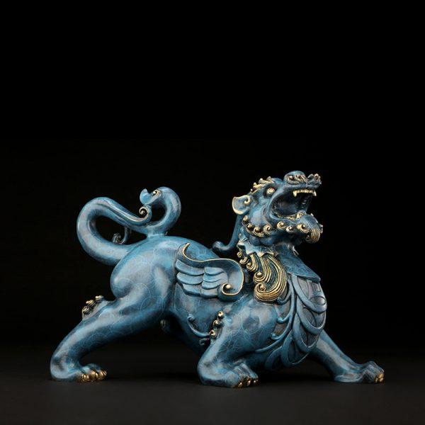 1I808003 Pixiu Statue Dragon Feng Shui Online Sale (4)