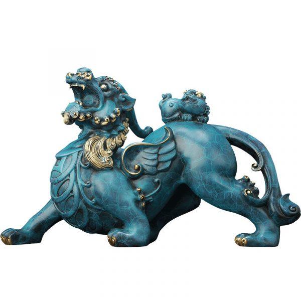 1I808003 Pixiu Statue Dragon Feng Shui Online Sale (5)