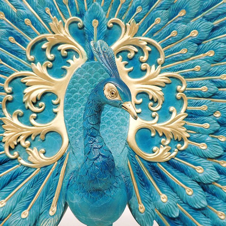1I809001 Peacock Garden Ornament Online Sale (7)