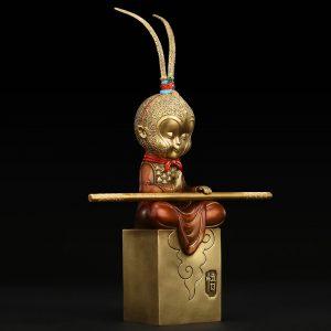 1I809003 Sun Wukong 동상 온라인 판매 (2)