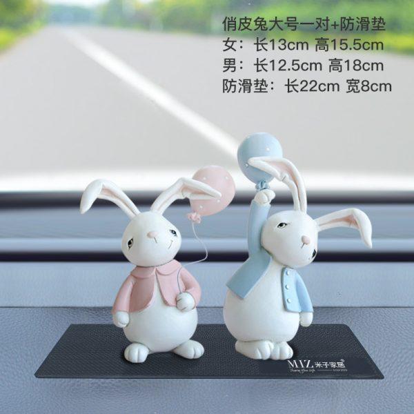 1I820001 Resin Easter Bunny Figurines Plastic (11)