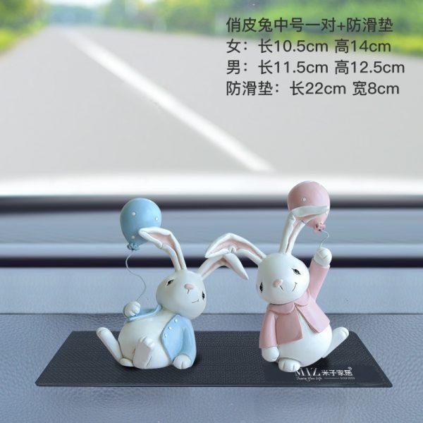 1I820001 Resin Easter Bunny Figurines Plastic (9)