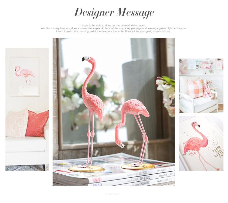 1I820002 vintage pink flamingo figurines (10)
