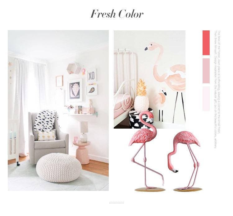 1I820002 vintage pink flamingo figurines (11)