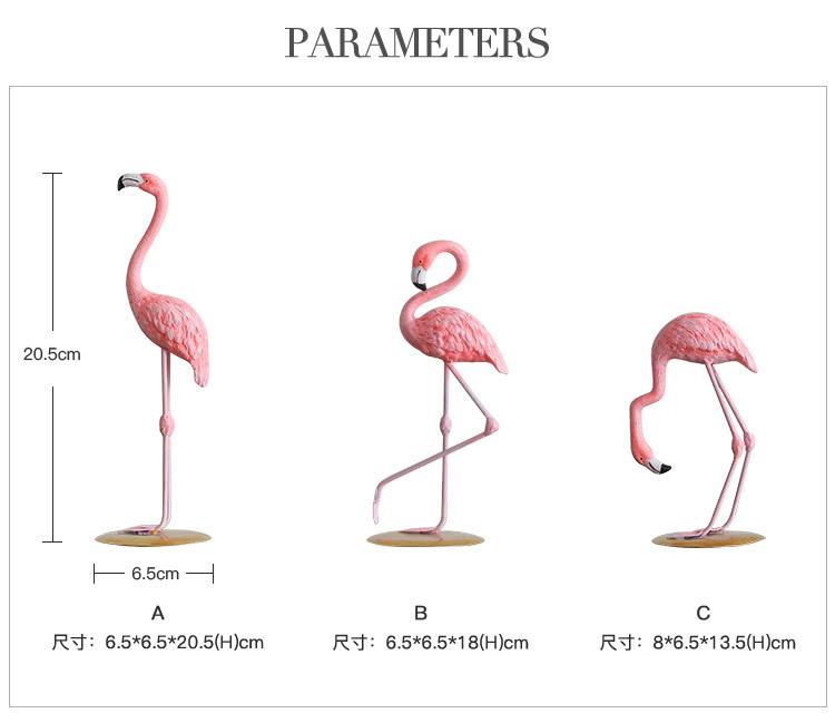 1I820002 vintage pink flamingo figurines (13)