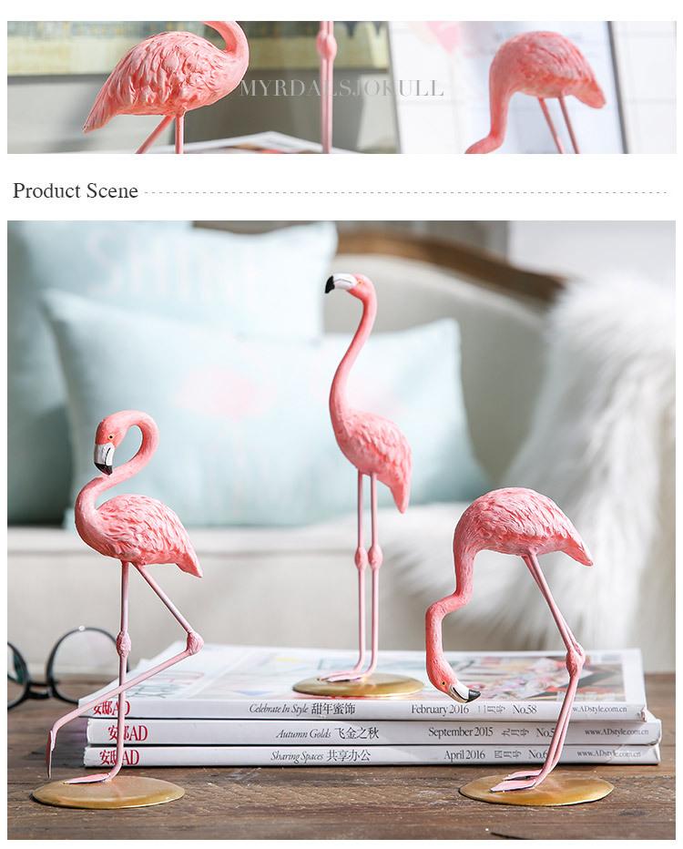 1I820002 vintage pink flamingo figurines (14)