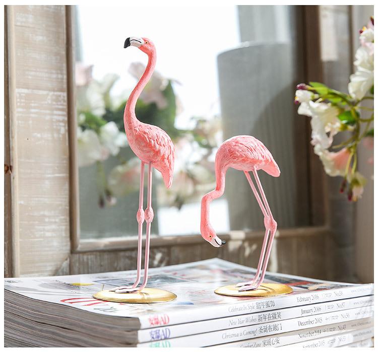 1I820002 vintage pink flamingo figurines (15)