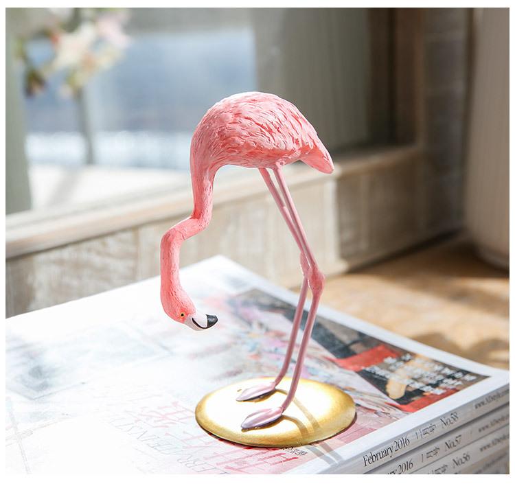 1I820002 vintage pink flamingo figurines (16)
