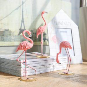 1I820002 vintage pink flamingo figurines (3)