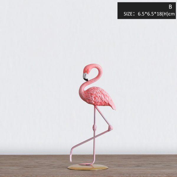 1I820002 vintage pink flamingo figurines (5)