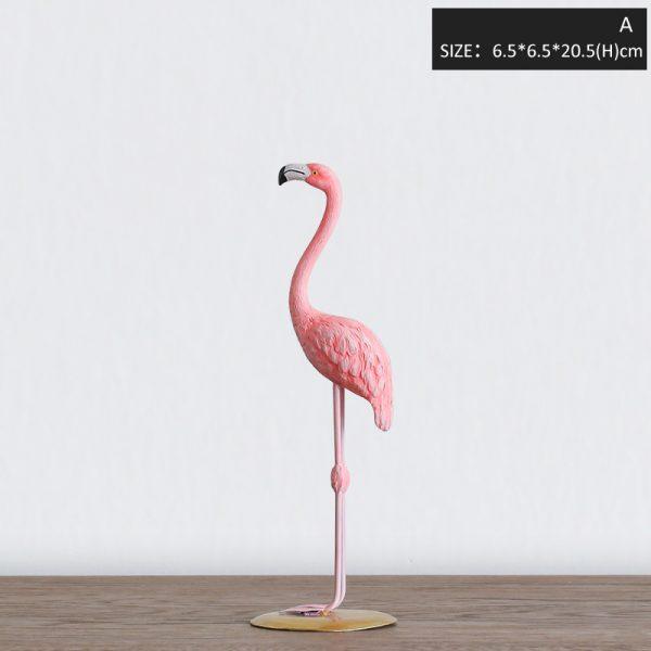 1I820002 vintage pink flamingo figurines (6)