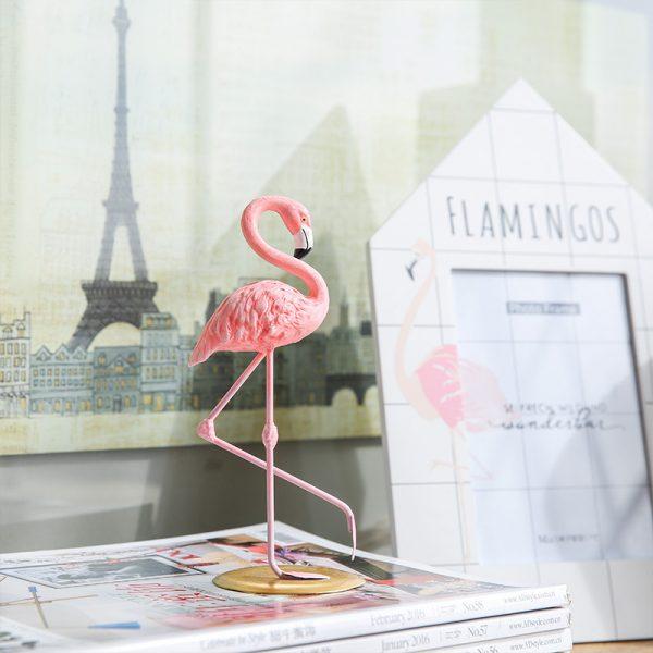 1I820002 vintage pink flamingo figurines (8)