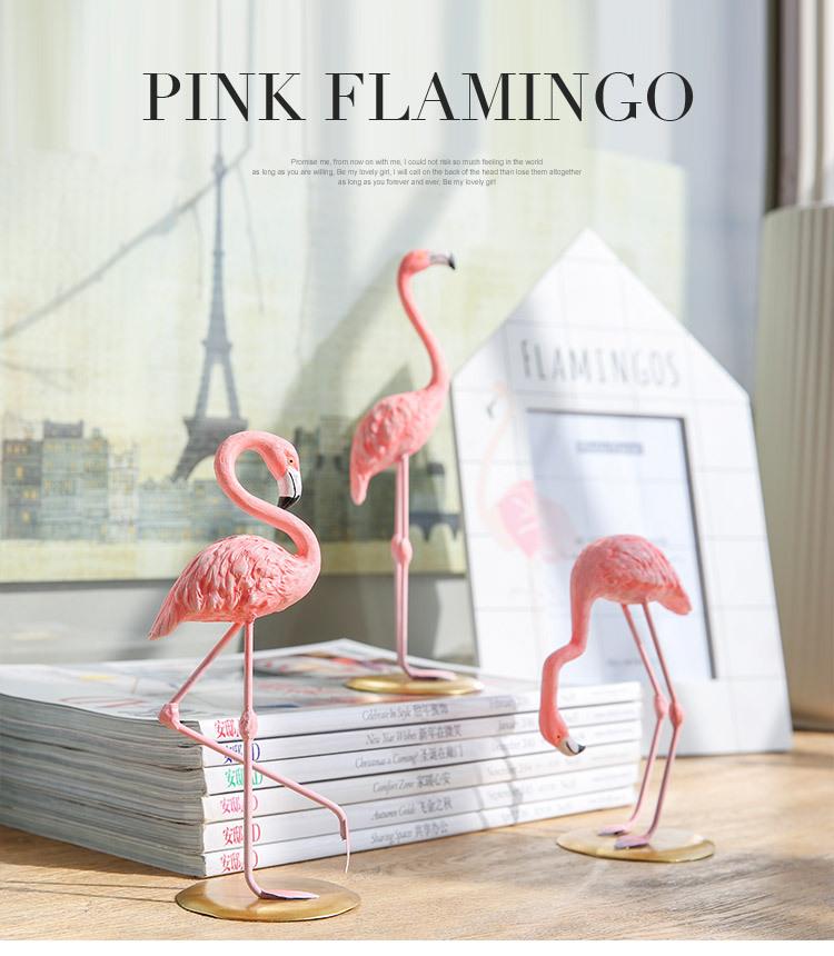 1I820002 vintage pink flamingo figurines (9)