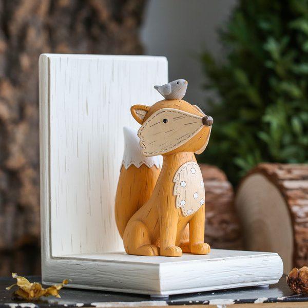 1I820003 Fox Bookend Squirrel Bookend (2)