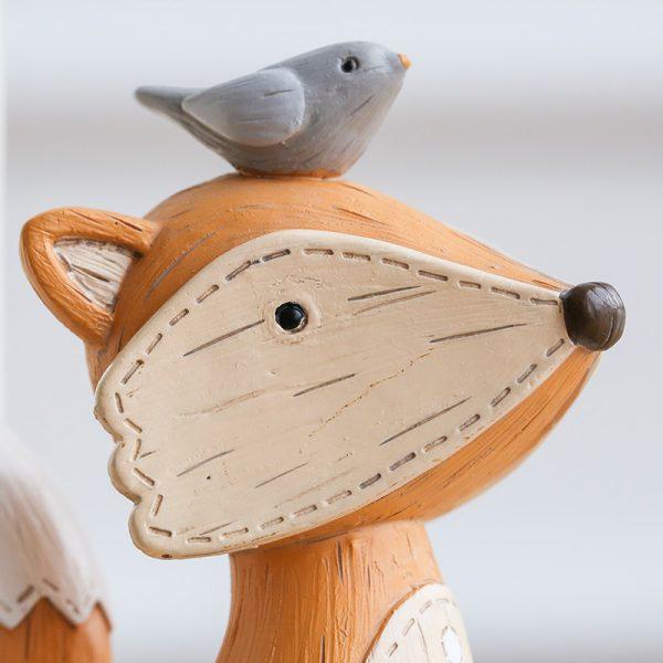 1I820003 Fox Bookend Squirrel Bookend (3)