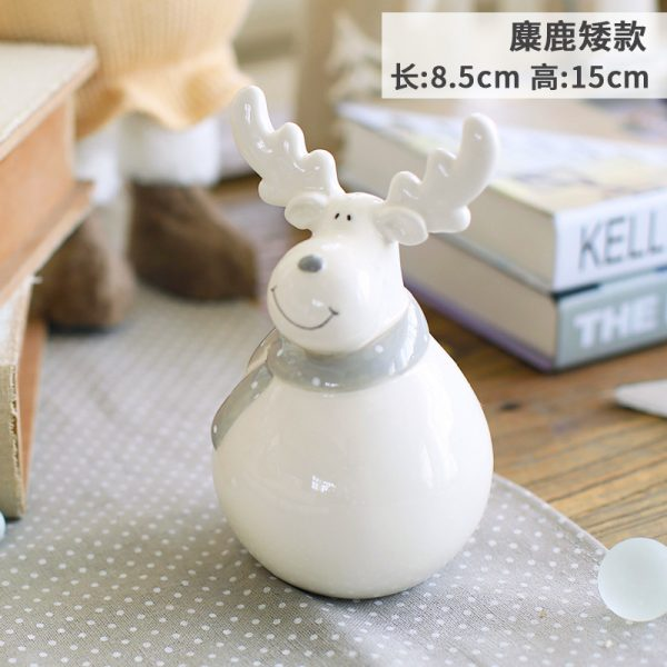 1I820004 Christmas Reindeer Table Decorations (1)