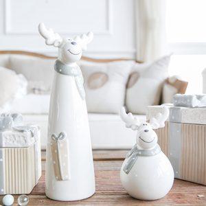 1I820004 Decoraciones de mesa de renos navideños (2)