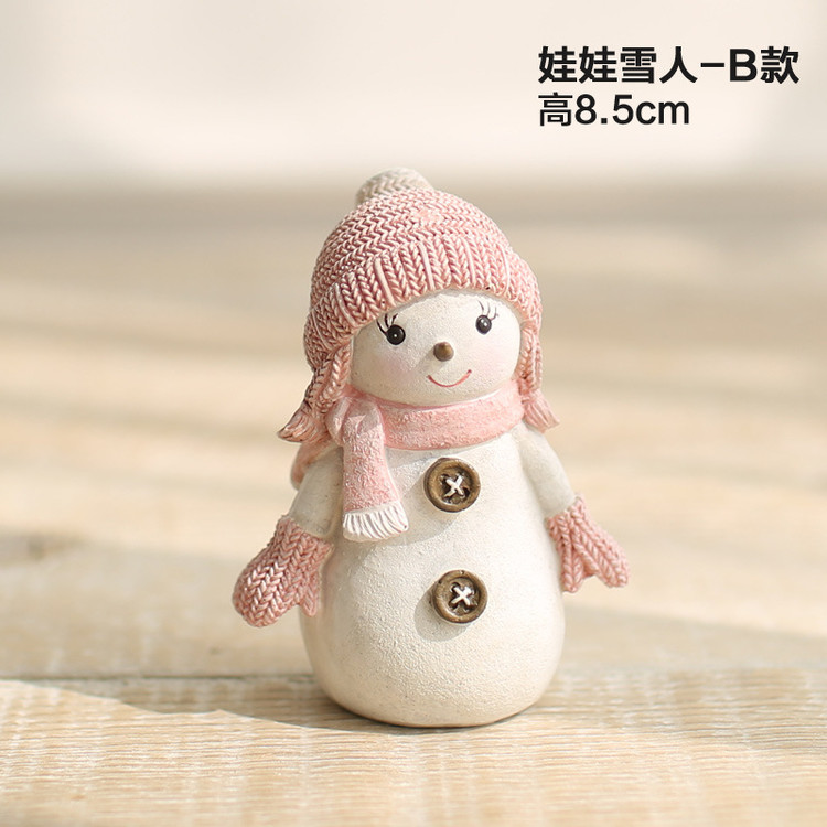 1I820005 Snowbabies Figurines Christmas Ornaments (10)