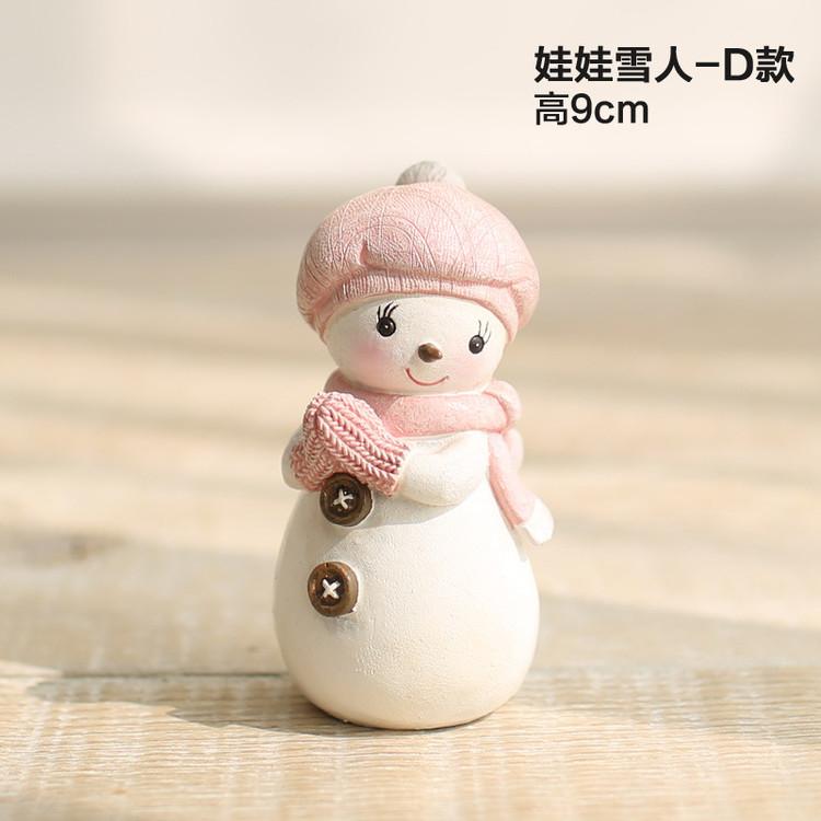 1I820005 Snowbabies Figurines Christmas Ornaments (2)