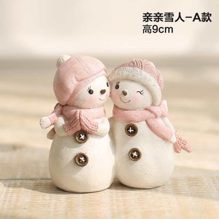 1I820005 Snowbabies Figurines Christmas Ornaments (4)