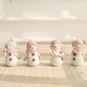 1I820005 Snowbabies Figurines Christmas Ornaments (6)