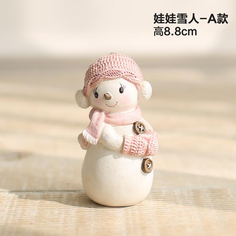 1I820005 Snowbabies Figurines Christmas Ornaments (7)