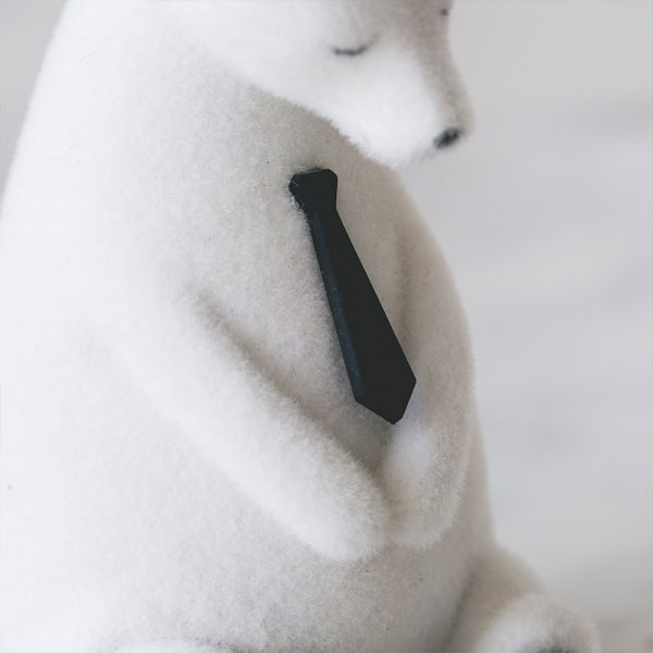 1I820019 Polar Bear Figurine White Cheap Sale (6)