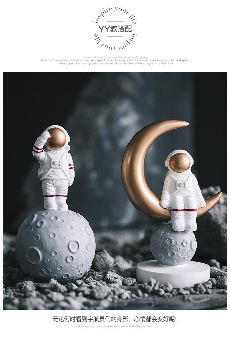 1I820020 Astronaut Figurine Resin Wholesale Online (18)