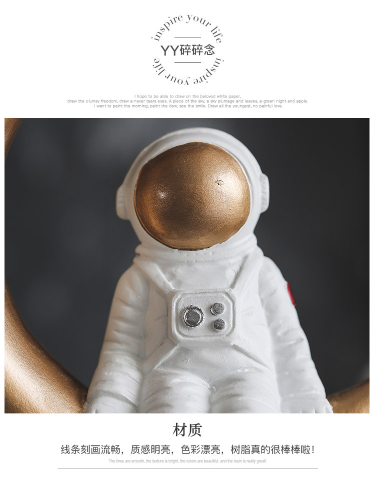 1I820020 Astronaut Figurine Resin Wholesale Online (24)
