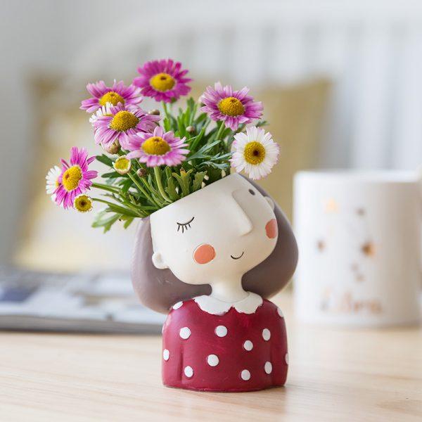 1I820021 Flower Pot Decoration Indoor Cheap Sale (1)